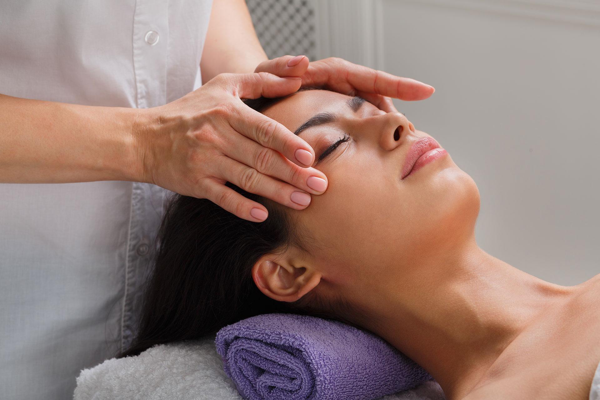 masaža obraza porenta