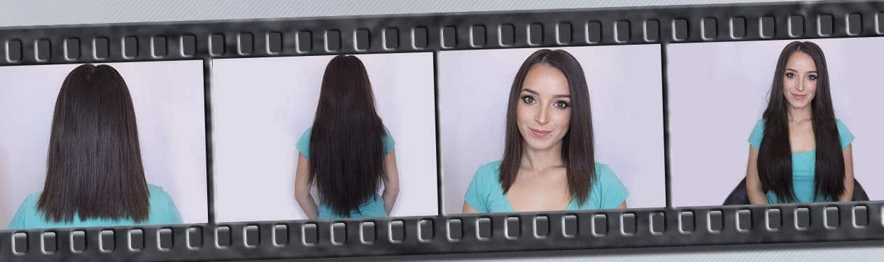 Lasni podaljški za dolge lase